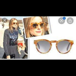 Westward leaning sun glasses